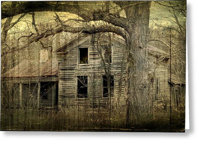 Condemned From Life Greeting Card by Melissa Smith