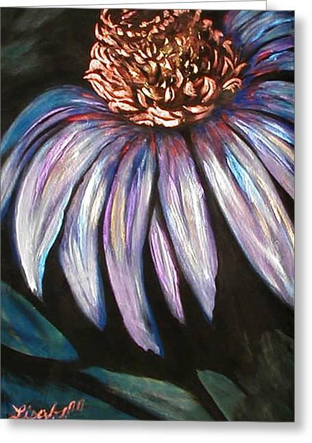 Coneflower Painting Greeting Card