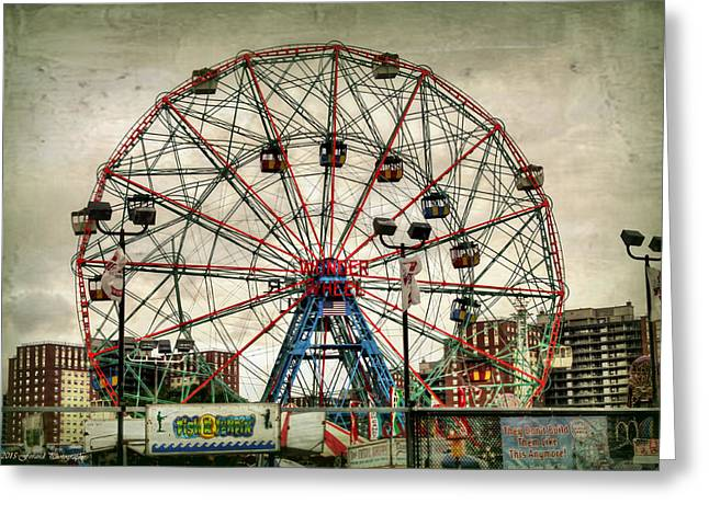 Coney Island Wonder Wheel  Greeting Card
