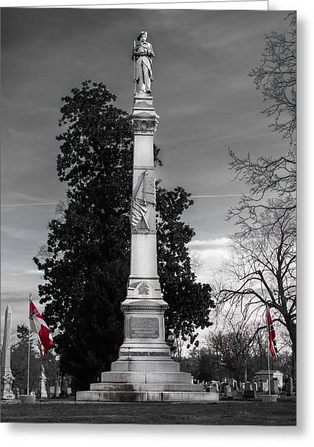 Confederate Monument Greeting Card