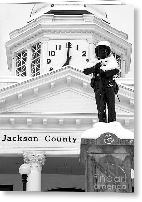 Confederate Soldier Statue 2014 Greeting Card