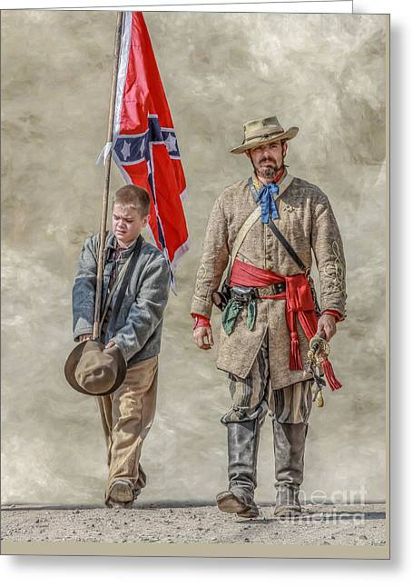 Confederate Sons Greeting Card
