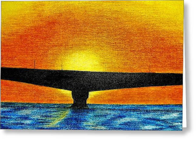 Confederation Bridge Greeting Card