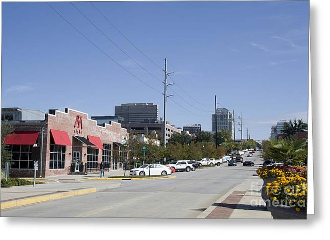 Congaree Vista District In Columbia South Carolina Greeting Card