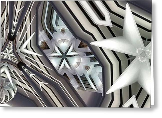 Congruent Greeting Card by Ron Bissett