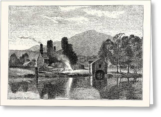Coniston Old Hall Greeting Card