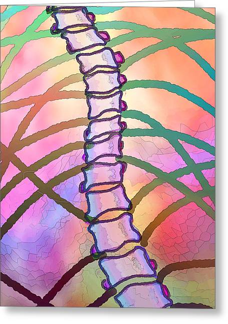 Connections  Greeting Card by Ginny Schmidt