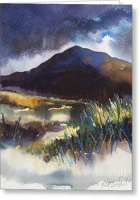 Connemara Coast II Greeting Card by Kate Bedell