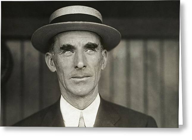 Connie Mack Greeting Card by Mountain Dreams