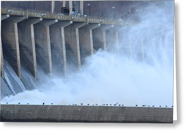 Conowingo Dam  Greeting Card