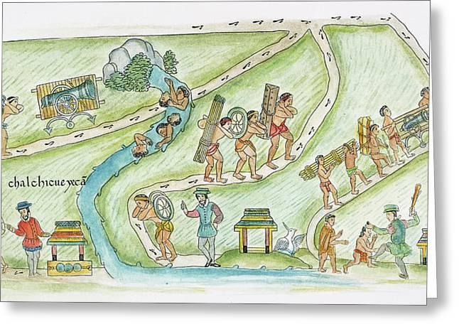 Conquistadors, 1520 Greeting Card