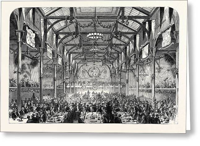 Conservative Banquet Given To Mr Greeting Card