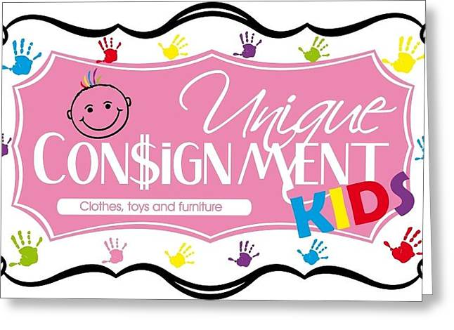 Consignment Greeting Card by Unique