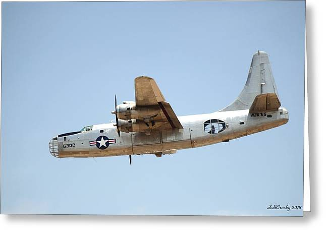 Consolidated Pb4y-2 Privateer  Greeting Card