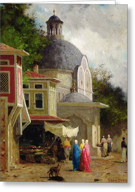 Constantinople Greeting Card by Fabius Brest