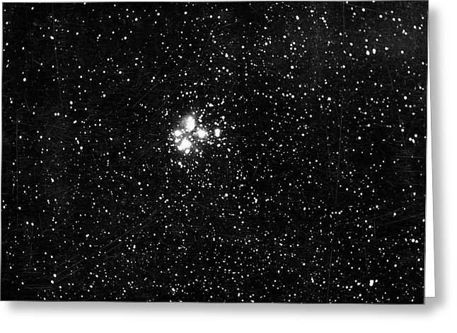 Constellation Of Pleiades Greeting Card