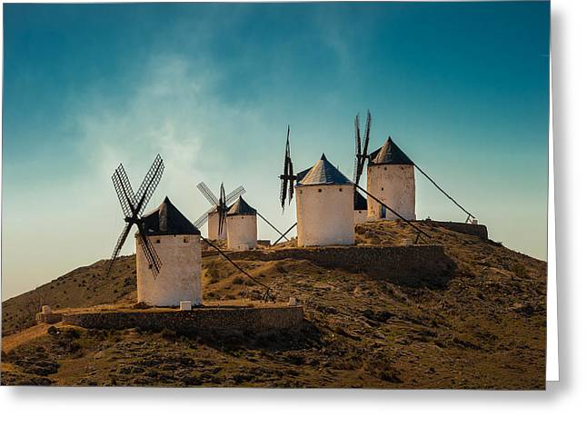 Consuegra Greeting Card