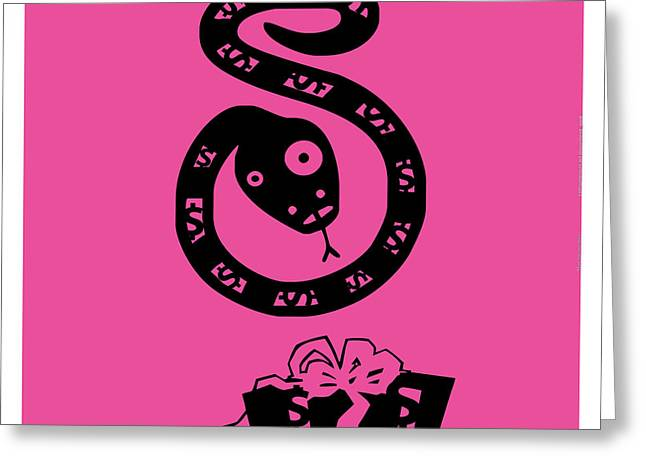 consumerism art movement_pink TNM Greeting Card by Mark Van den dries