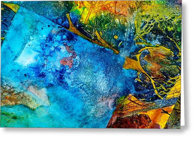 Contempo Six Greeting Card by David Raderstorf