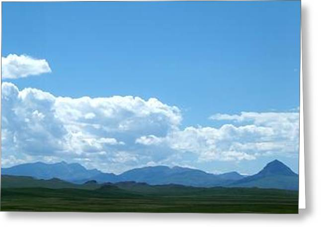 Continental Divide Panoramic 2 Greeting Card by Matthew Peek