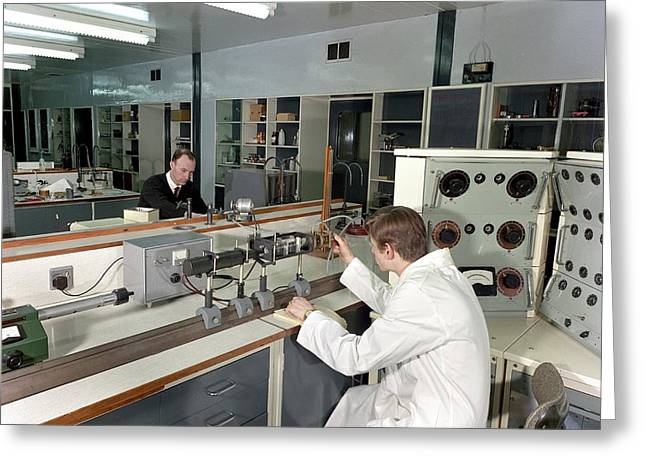 Control And Instrumentation Research Greeting Card