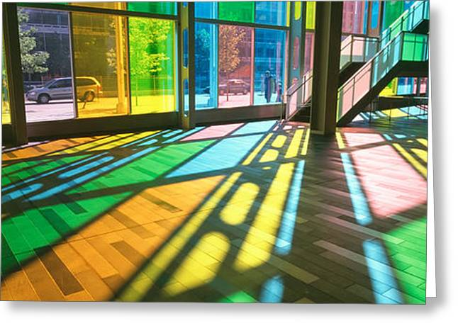 Convention Center, Quebec, Canada Greeting Card by Panoramic Images