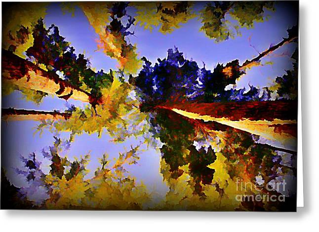 Convergent Perspective Greeting Card by John Malone Halifax Artist