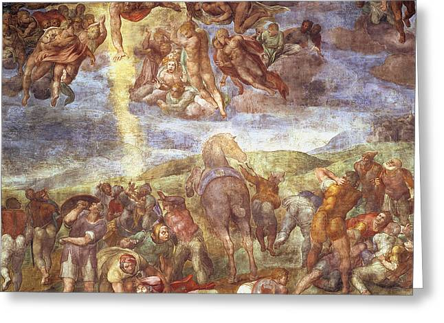 Conversion Of St. Paul Fresco Greeting Card