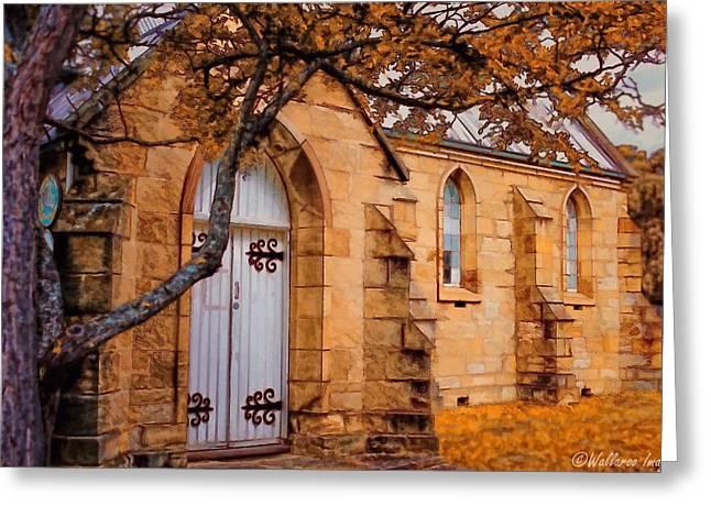Convict Built Church 1873 Greeting Card