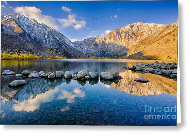 Convict Lake 2 Greeting Card