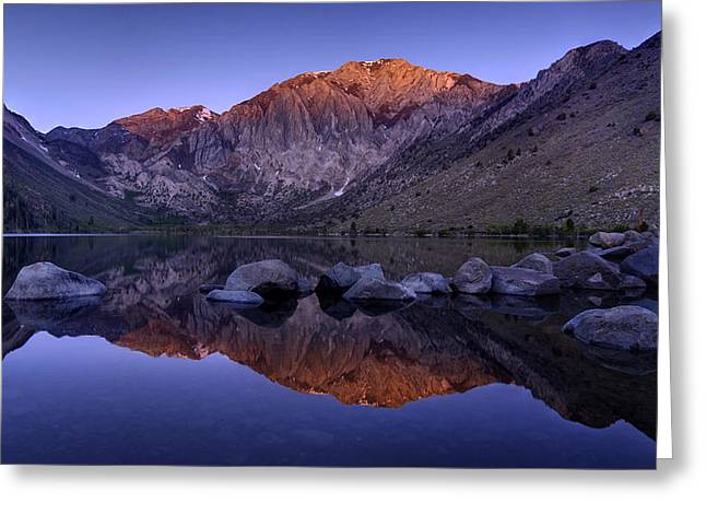 Convict Lake Greeting Card by Sean Foster