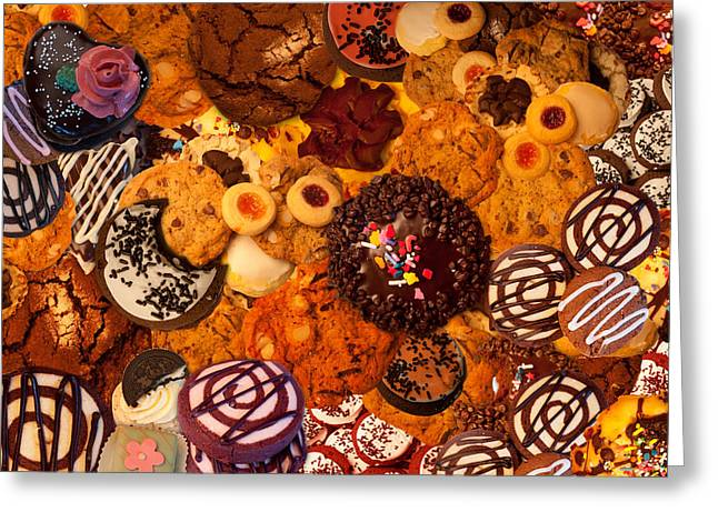 Cookie Crazy 2  Greeting Card