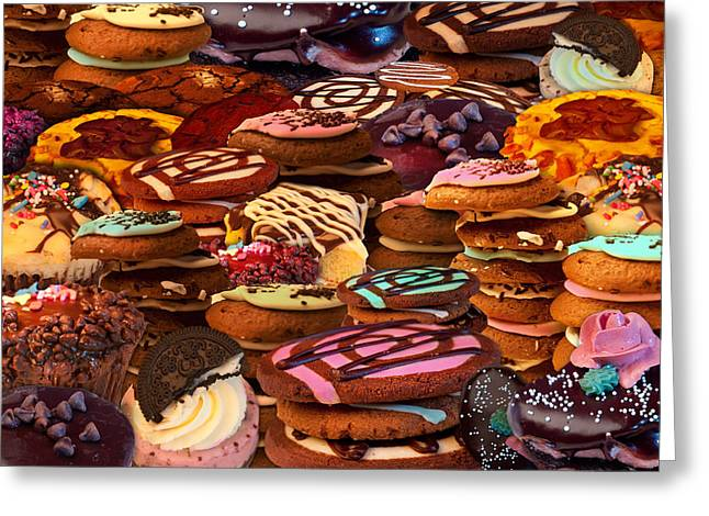 Cookie Crazy Greeting Card