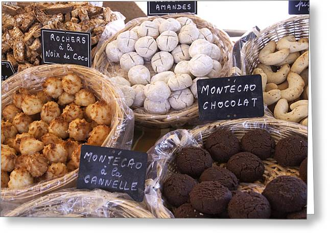 Cookies Of Provence Greeting Card by Karma Boyer