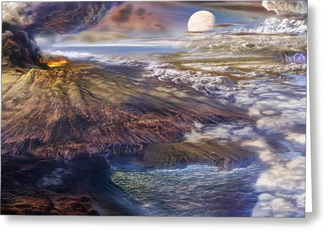 Cool Early Earth Greeting Card