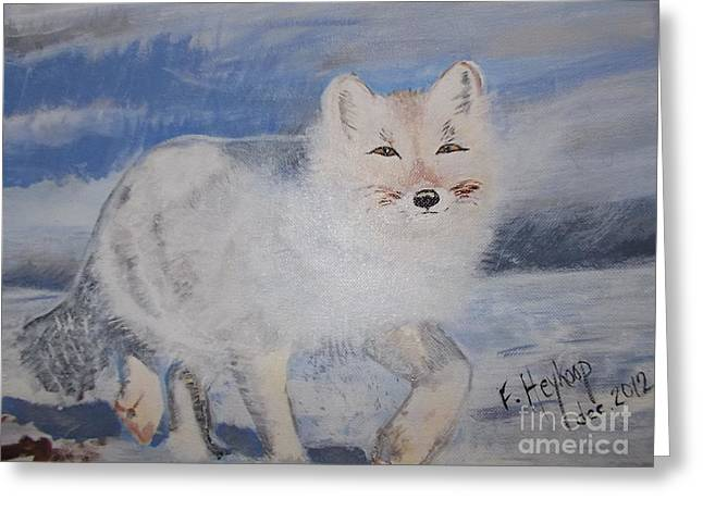 Cool Fox Greeting Card