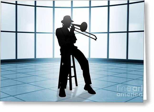 Cool Jazz 1 Greeting Card