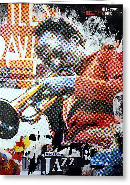 Cool Jazz Greeting Card