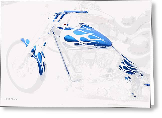 Cool Motorcycle Greeting Card