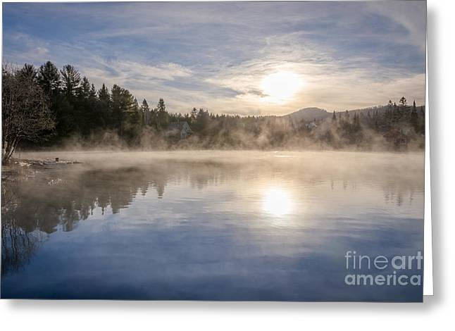 Cool November Morning Greeting Card