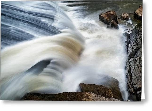 Cooleemee Falls 2 Greeting Card by Patrick M Lynch