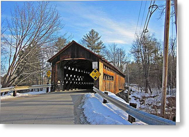 Coombs Covered Bridge Greeting Card