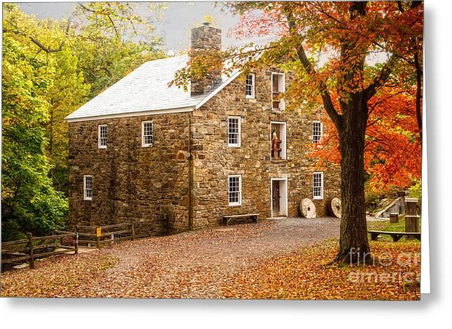 Cooper Gristmill Greeting Card