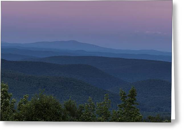 Cooper Hill Dusk II Greeting Card