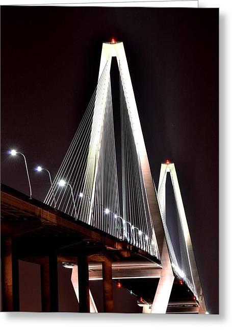 Cooper River Bridge  Greeting Card