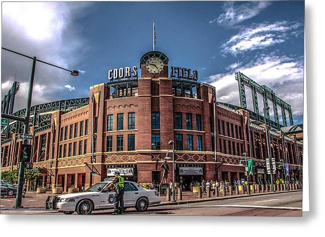 Colorado Rockies Greeting Card