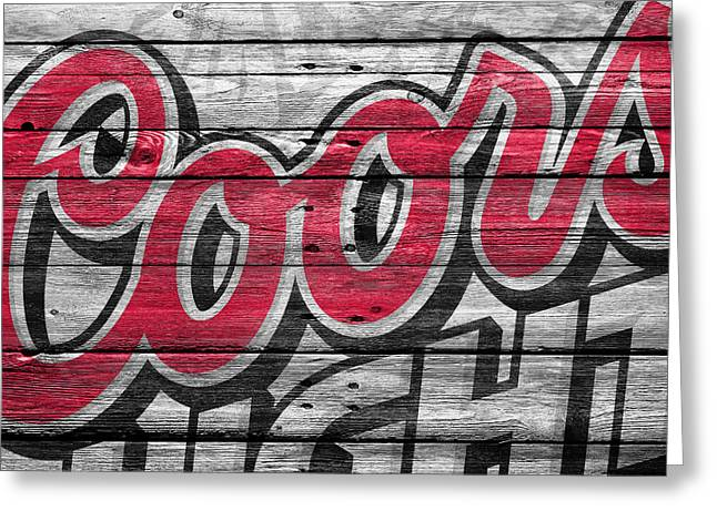 Coors Light Greeting Card