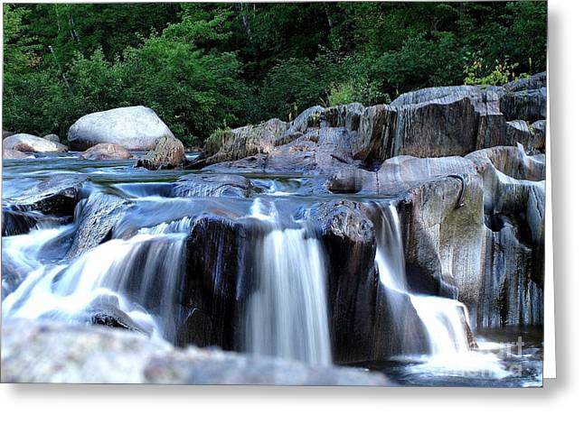 Coos Canyon Maine Greeting Card by Donnie Freeman
