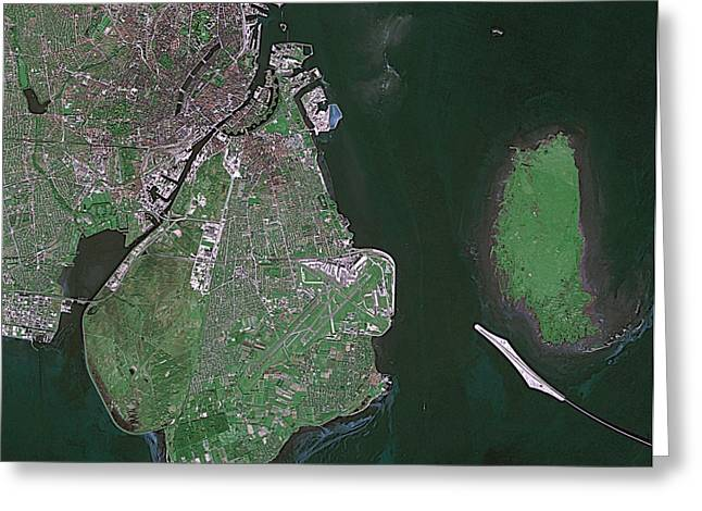 Copenhagen Greeting Card by European Space Agency/cnes, Spot Image