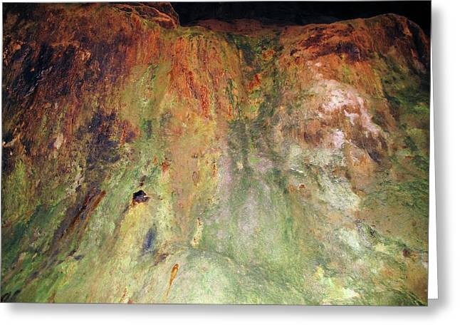 Copper Mine Deposit Greeting Card by Cordelia Molloy/science Photo Library